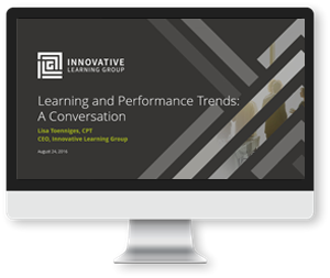 Learning Trends Webinar