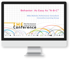 Behavior: As Easy As A-B-C