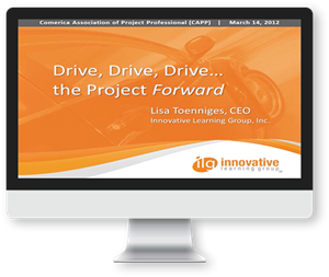Drive, Drive, Drive… The Project Forward